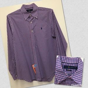 Ralph Lauren Men's Long Sleeve Button-Down Shirt